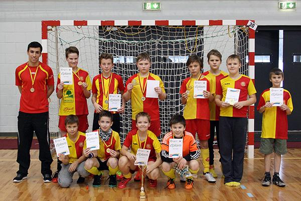 FC Helios Tartu punane meeskond