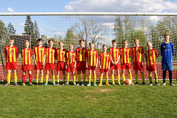 FC Helios Võru U14 meeskond 2016
