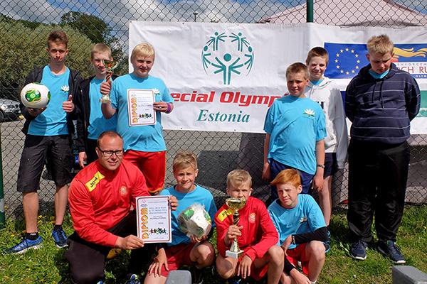 Võru Järve kooli ja FC Helios Võru ühendvõistkond